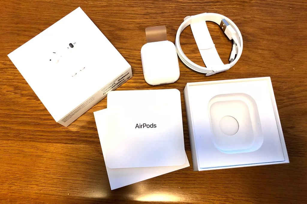 AirPods 開封イメージ