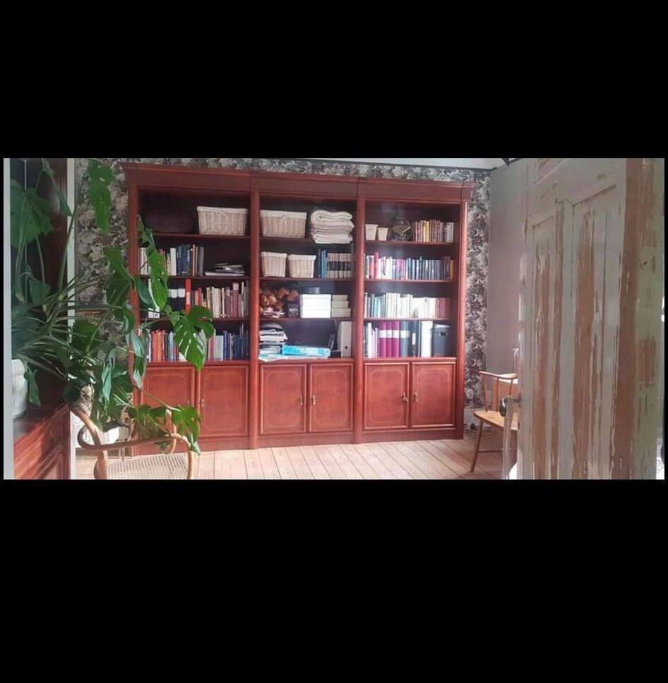 renoverad bokhylla