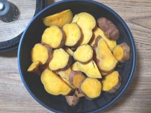 安納芋の蒸し煮