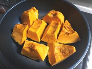 かぼちゃの蒸し煮