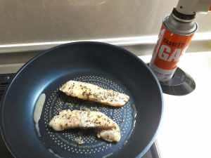 鱈の低温調理