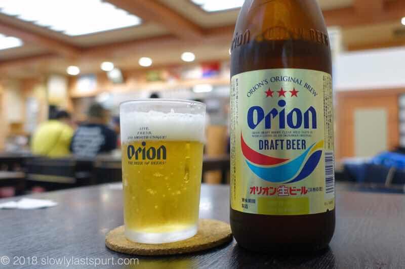 那覇空港 空港食堂とオリオンビール