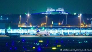 羽田空港国際ターミナル夜景