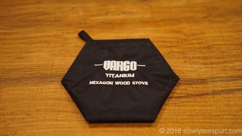 VARGO(バーゴ) チタニウム ヘキサゴン ウッドストーブ