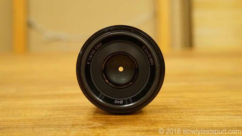 SONY SEL35F18 E 35mm F1.8 OSS