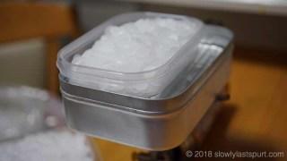パラフィン 湯煎