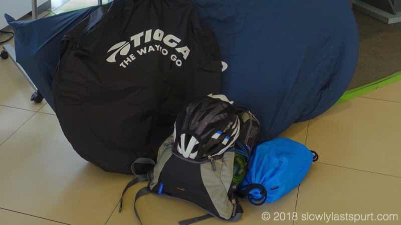 ロードバイク持ち物リストヘルメット