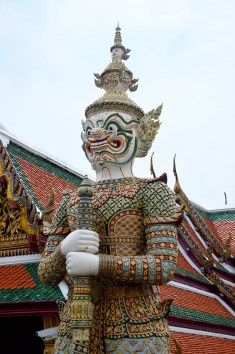 Bangkok: Grand Palace, Ramakien Figure