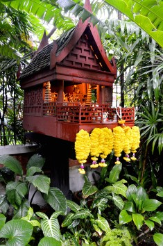 Bangkok: Jim Thompson's House - the spirit house