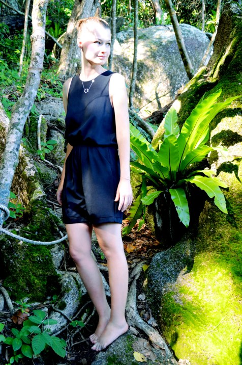 Black jumpsuit by Duch fashion label Karel&Kees