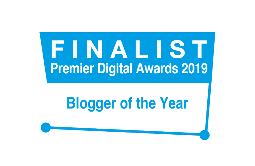 Finalist for Blogger of the Year