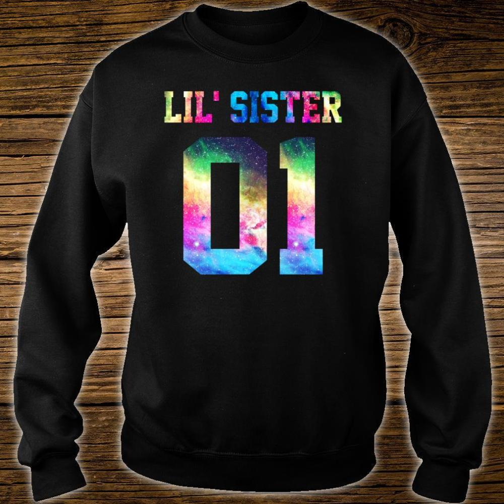 01 big sister 01 mid sister 01 lil' sister for 3 sisters Shirt sweater