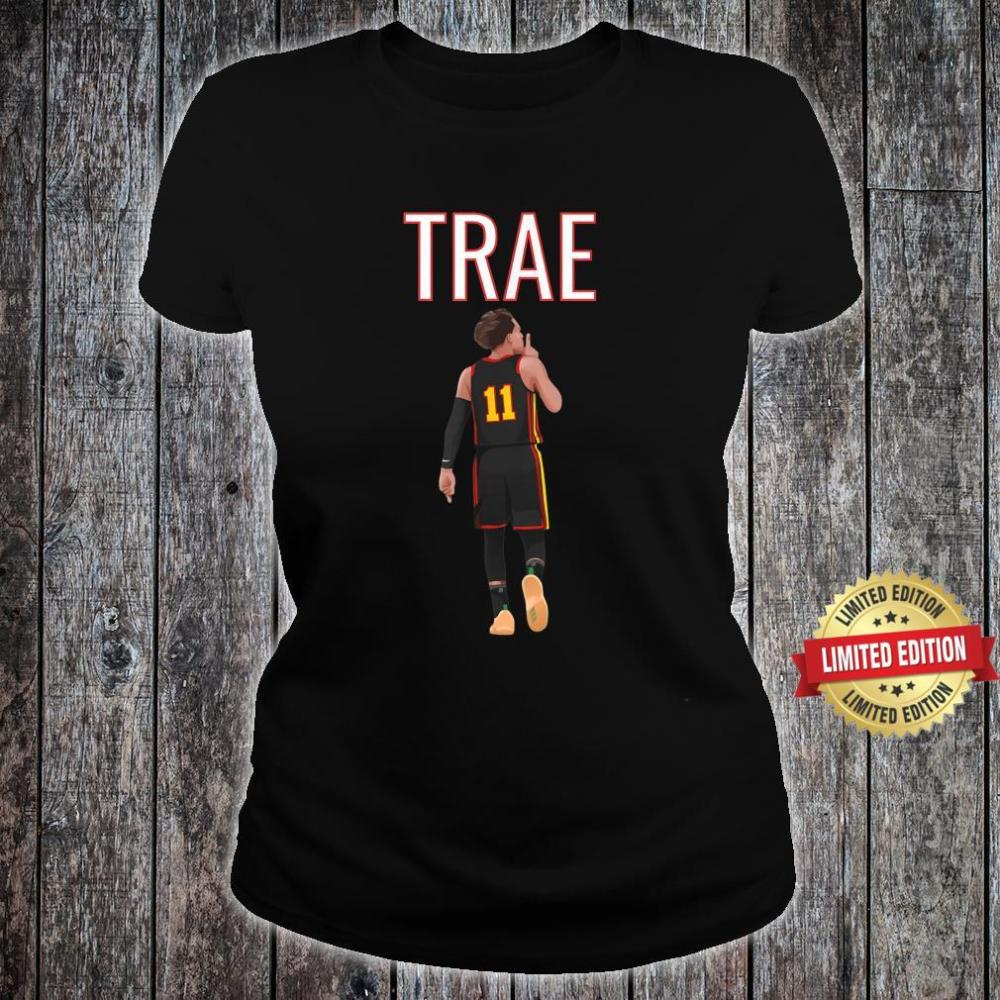 Trae Young Shhh Quiet Shirt ladies tee