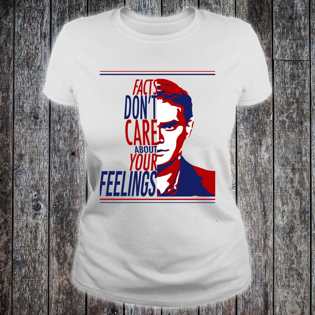 Ben Shapiro Facts don't care about your feelings shirt ladies tee