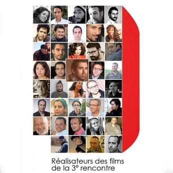 Affiche des Realisateurs participant aux festival (bon j'ai agrandi ma photo pour qu'on me retrouve)