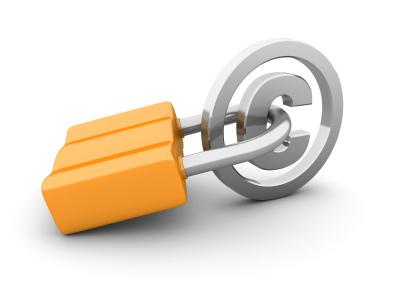 저작권 자물쇠