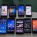 소비자의 돌직구 7: 중국 스마트폰 10여 대를 써보다