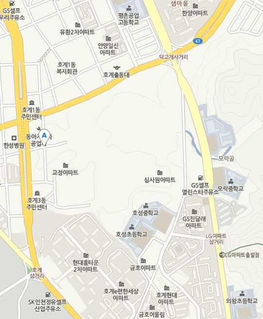 안양교도소(네이버 지도)