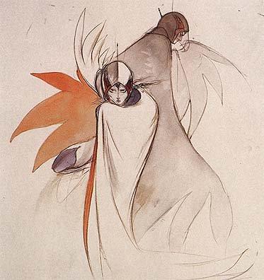 국내에는 [파이널 판타지]로 잘 알려진 아마노 요시타카의 [독수리 오형제] 디자인