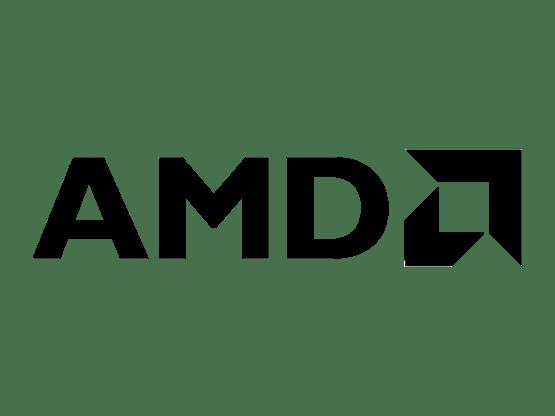 인텔과 더불어 세계적인 마이크로프로세서 개발사 AMD의 로고