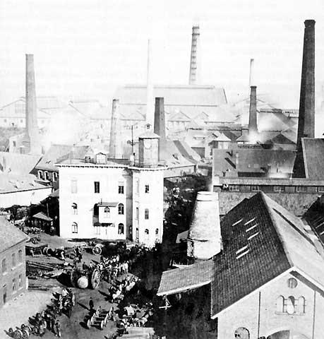 독일 에센의 거대 공단 (1864)