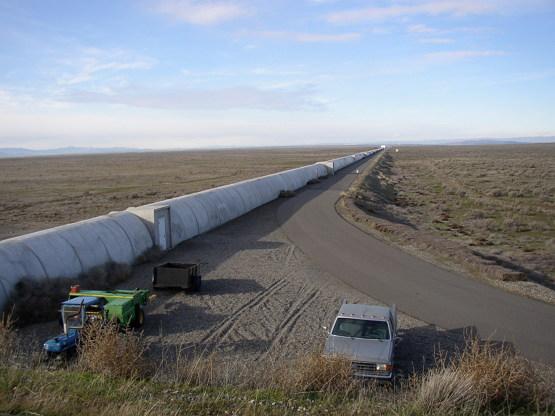 핸포드 관측소의 북쪽 다리 (Umptanum, CC BY SA 3.0)