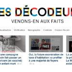 프랑스 언론의 팩트체크: 르몽드 '데코되르'