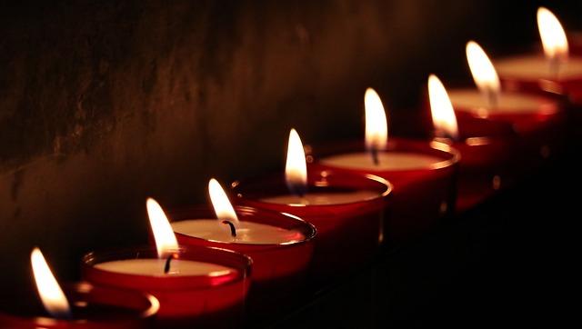 기억 추억 촛불