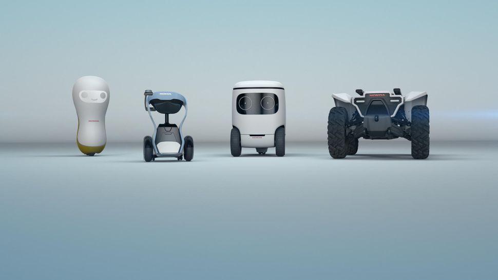 혼다의 콘셉트 로봇