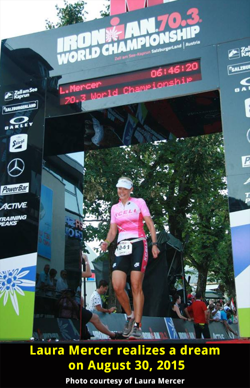 2015 Ironman 70.3 World Championships Results for Female Triathletes Age 40+