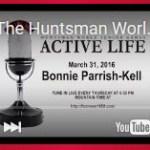screenshot of Huntsman World Senior Games The Active Life radio show featuring Bonnie Parrish-Kell