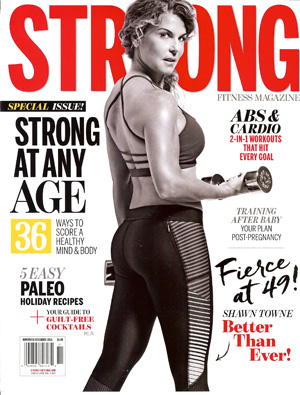 shawn towne on the cover of STRONG magazine