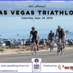 Las Vegas Triathlon sprint race is Nevada Senior Games' triathlon in partnership with BBSC Endurance Sports