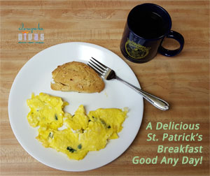 A Yummy Breakfast for St. Patrick's Day