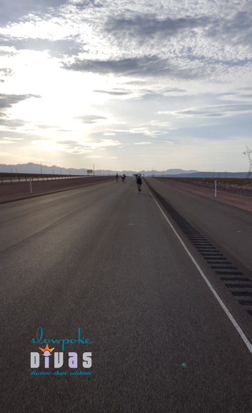 Interstate 11 roadway outside Boulder City, Nevada before opening to vehicular traffic in August.