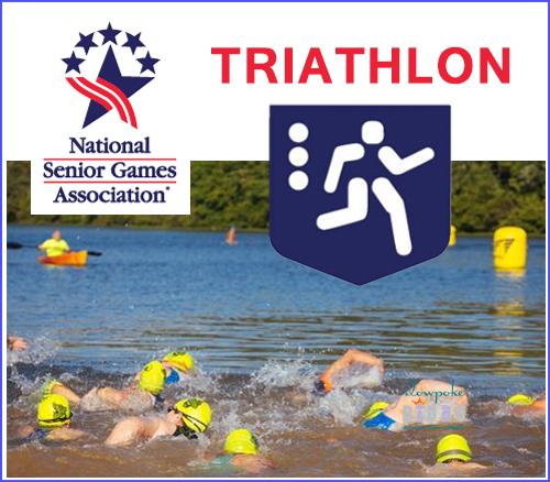 national senior games triathlon
