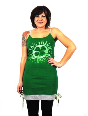 Green Beer Drinking ...Tank Dress