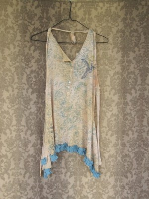 Funky and Flirty Eco Creme Brulee Halter