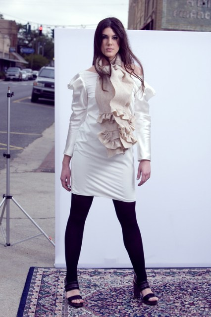 Aida dress- White