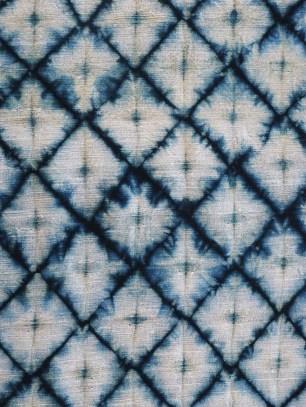 Indigo and myrobalan on cotton