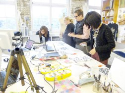A Slow Textiles Group event with international broadcasting