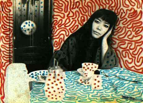 Yayoi Kusama from a Slow Textiles Group blogpost