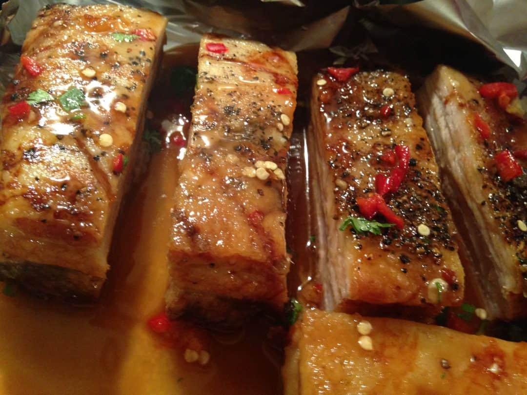 Cider & Chilli Pork Belly