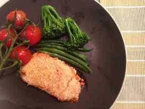 crunchy baked cod