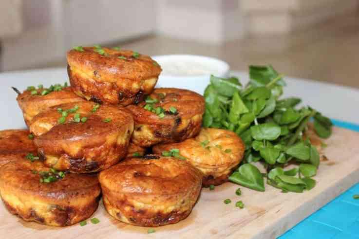 steak muffins