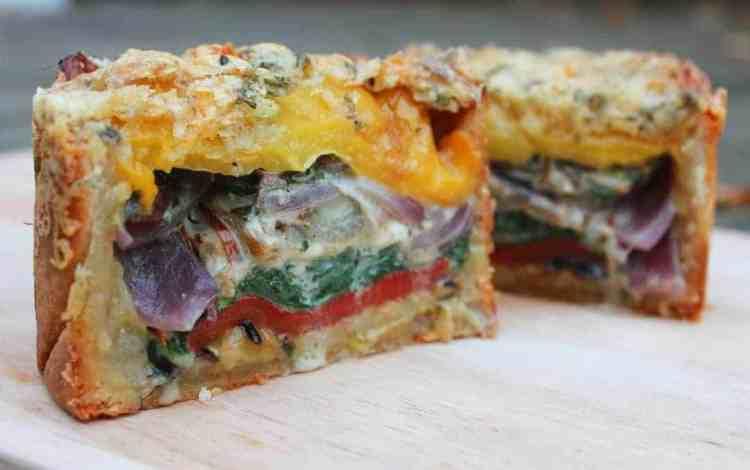 Layered Vegetable Pie