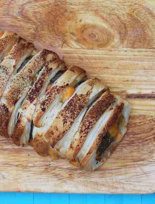 Stuffed Sausage Roll