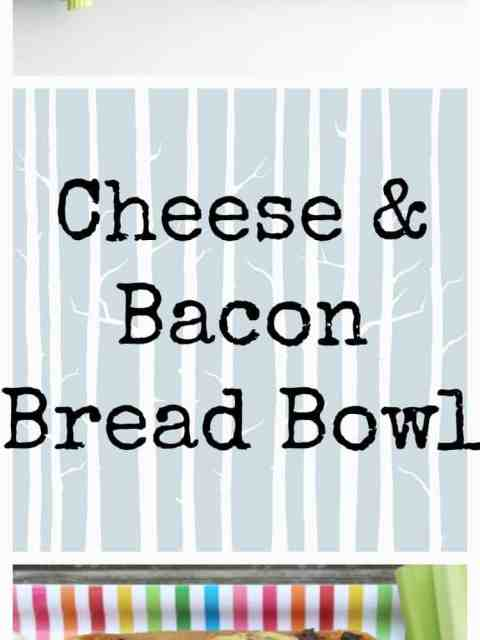 Bacon & Cheese Bread Bowl
