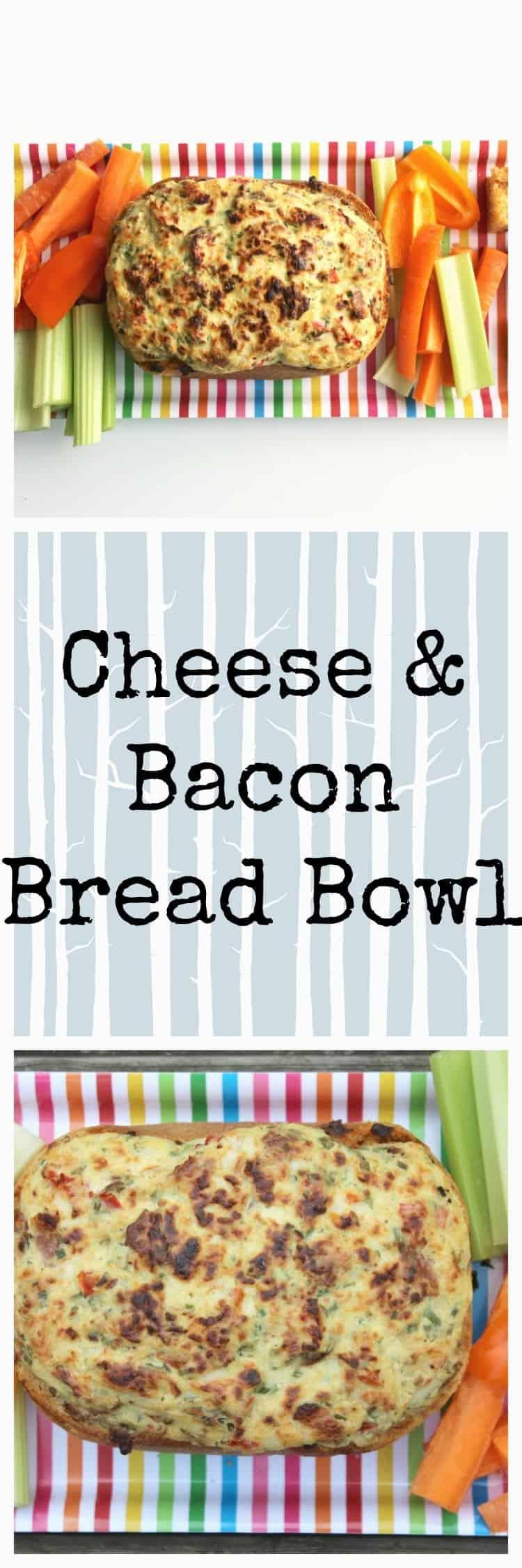 Bacon & Cheese Bread Bowl
