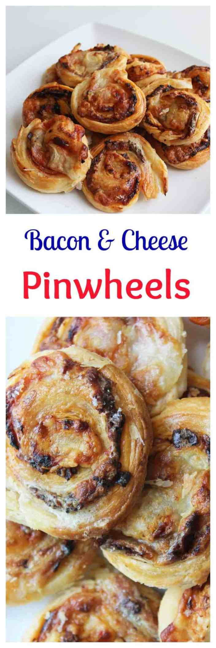 Puff Pastry Pinwheels With Bacon Amp Cheese
